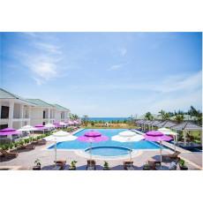 Dù lệch tâm tròn 3m cho Gold Coast Hotel Resort & Spa ở Quảng Bình